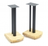 Atacama Apollo Cyclone 5 Speaker Stands Silk Black/Oak